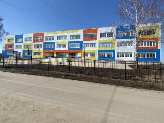 С.Монаково в Старооскольском городском округе Школа