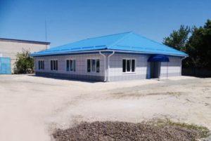 Административное здание газпрома